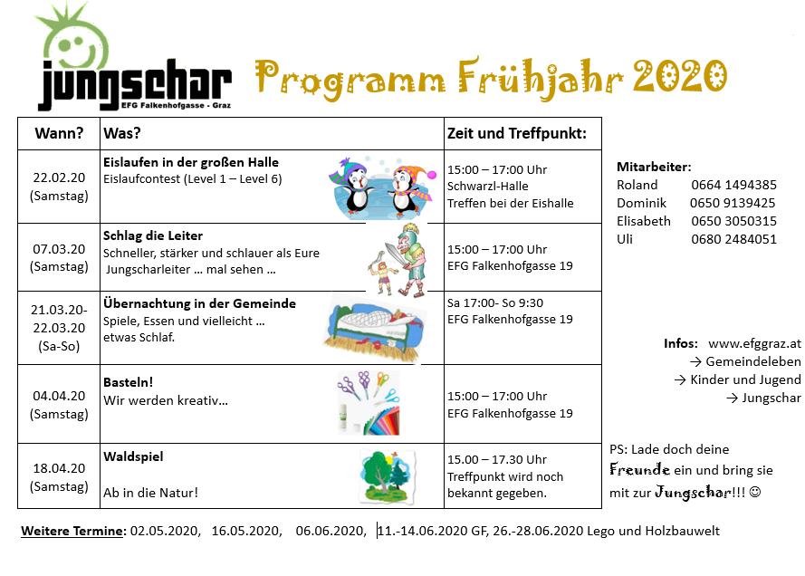 Jungschar Programm